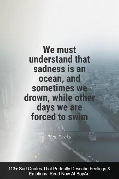 Saddest Quotes : saddest, quotes, Quotes, Through, Sadness, BayArt