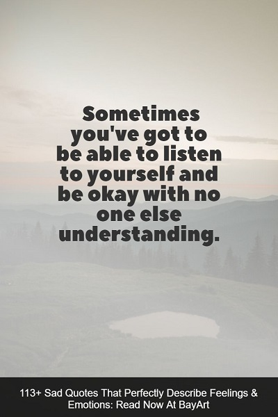 sadness quotes about life
