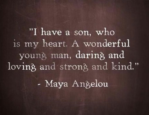 mom and son quotes