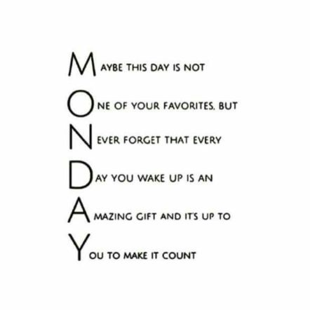 Monday Quotes For Work 74+ Inspirational Monday Quotes To Explode Your Motivation   BayArt Monday Quotes For Work