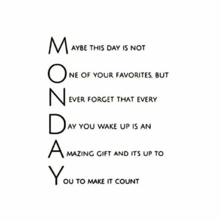 74+ Inspirational Monday Quotes To Explode Your Motivation - BayArt