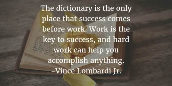 quotes about working hard
