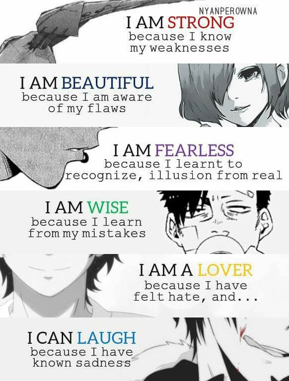 top anime quotes