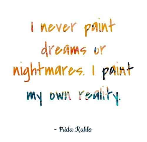 frida kahlo painting quotes