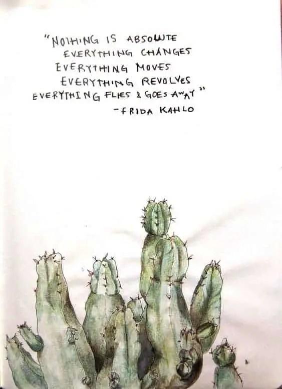 frida kahlo quotes on life