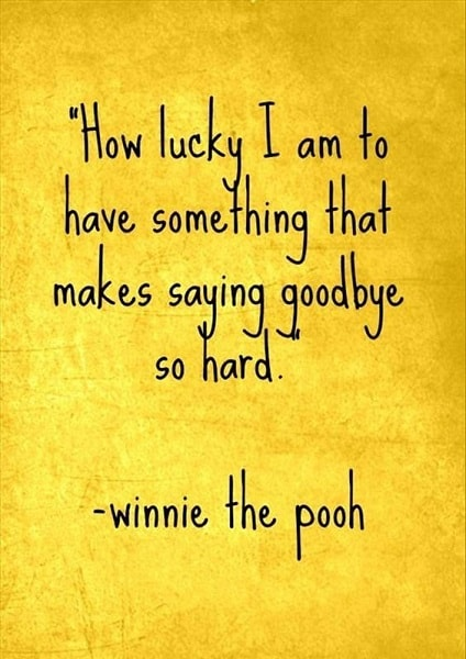 goodbye quotes winnie the pooh