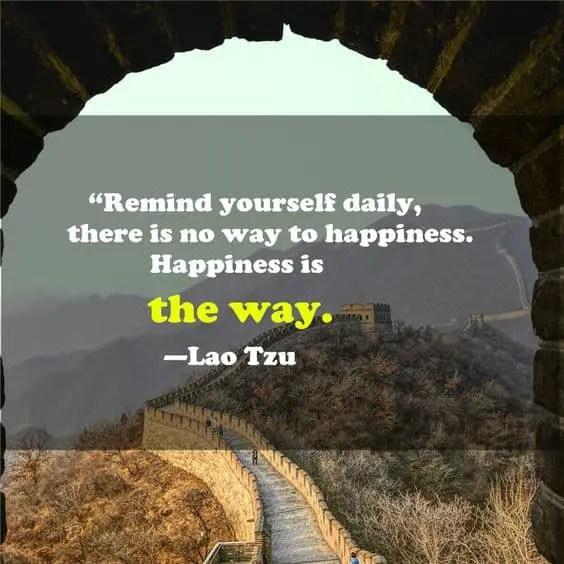lao tzu quotes on happiness