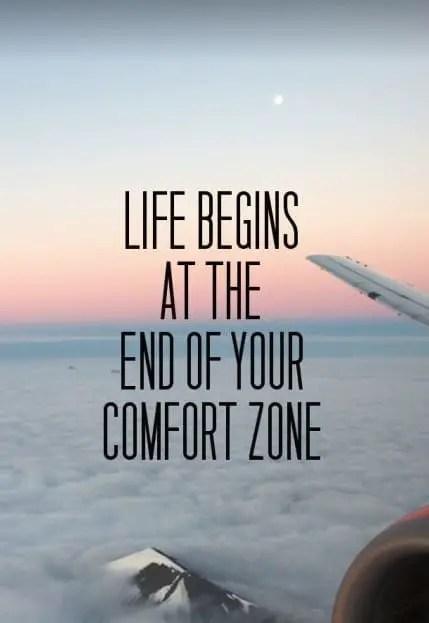 my comfort zone quotes