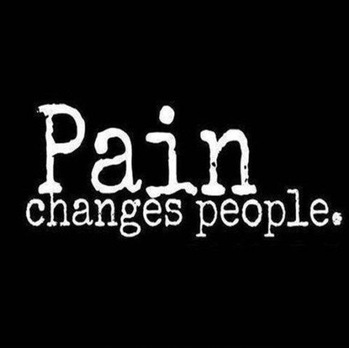 people change quotes pain