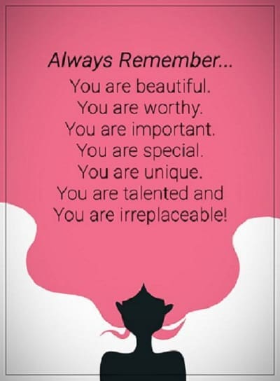 remember you are beautiful quotes