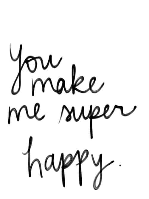 75 You Make Me Happy Quotes To Share With Sweetheart Bayart