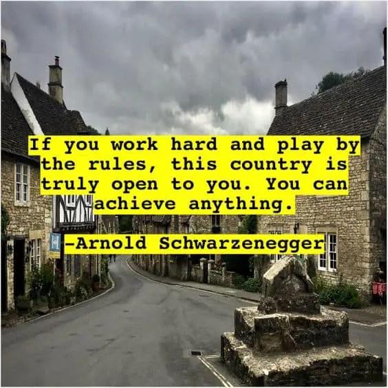 arnold schwarzenegger quotes conquer
