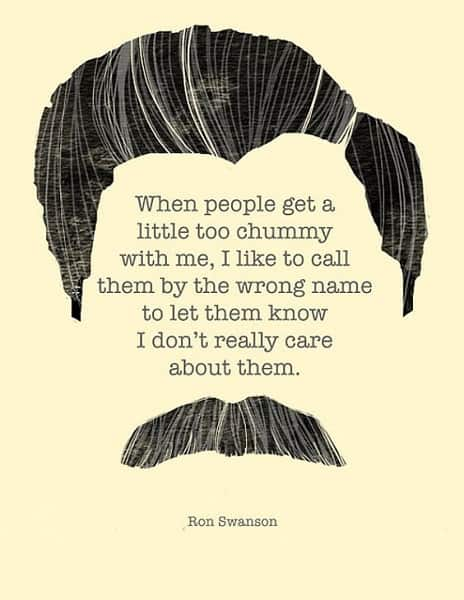 best ron swanson quotes