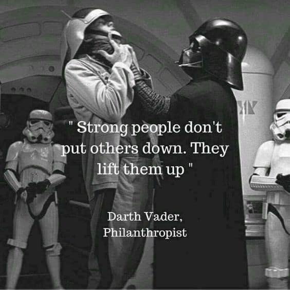 darth vader motivational quotes