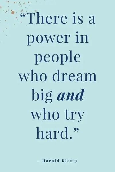 effort quotes to make it happen