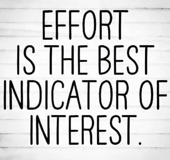effort sayings