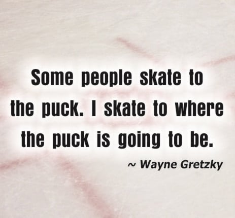 wayne gretzky the puck quotes