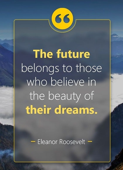 eleanor roosevelt quotes about dreams