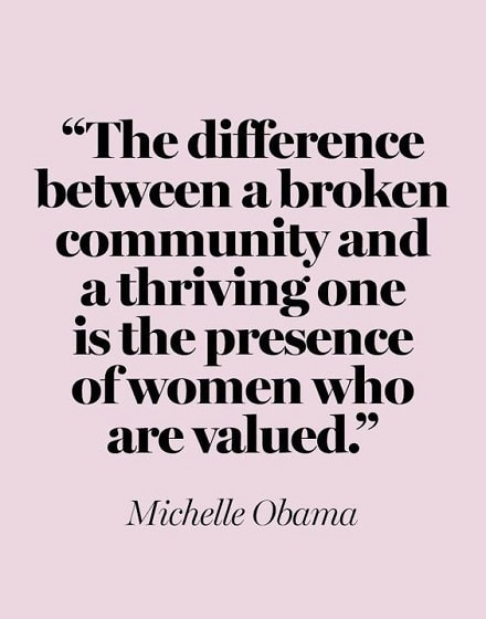 michelle obama empowering quotes