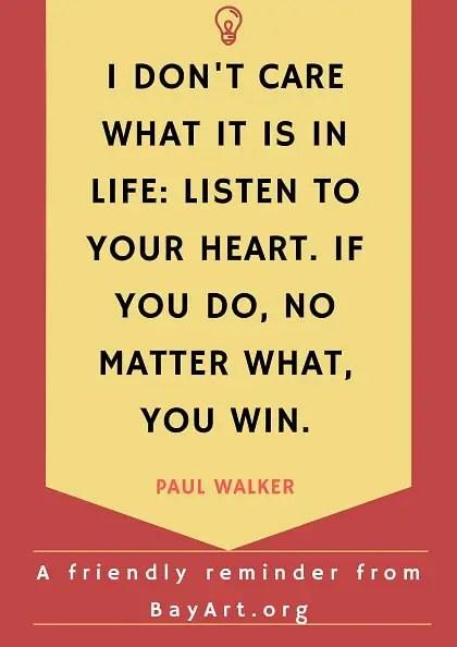 profound paul walker quotes