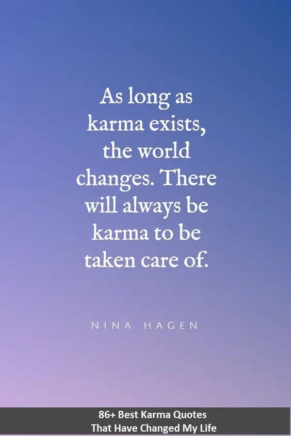 powerful karma quotes