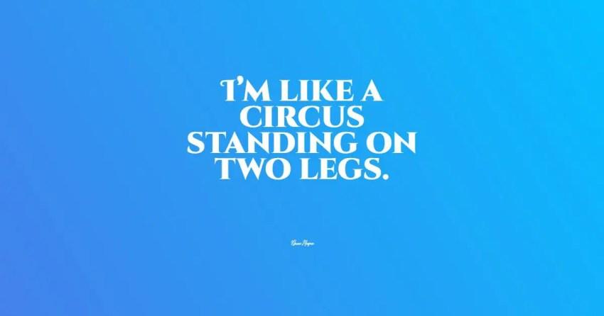 circus quotes