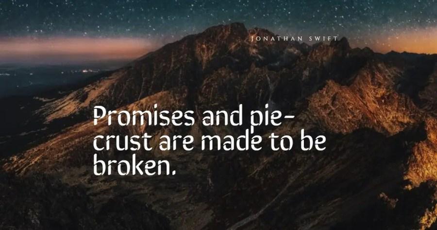 broken promises quotes
