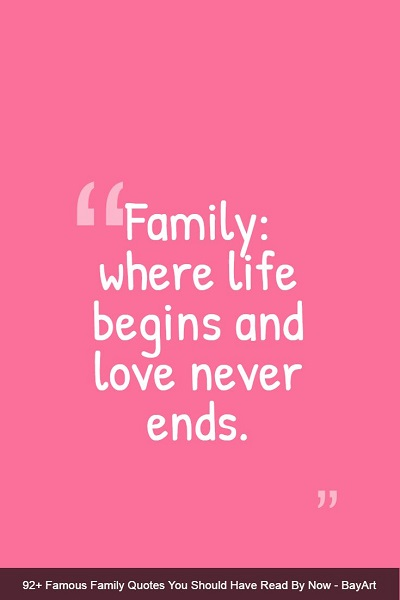 deep family quotes and sayings