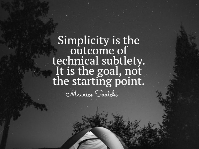 empowering simplicity quotes