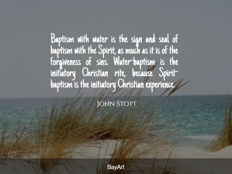 inspirational baptism quotes