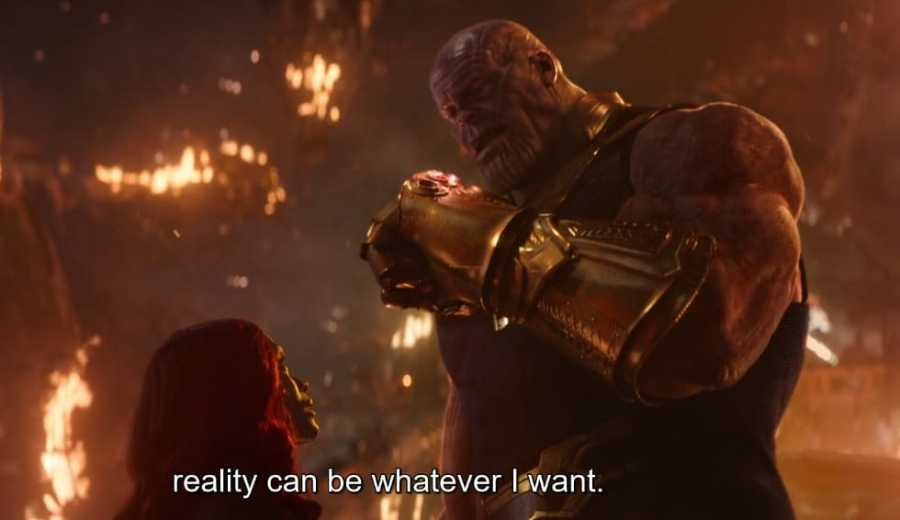 mind blowing Thanos Quotes