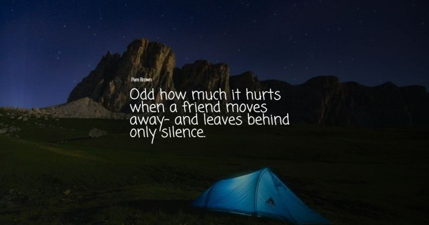 quotes about leaving friends
