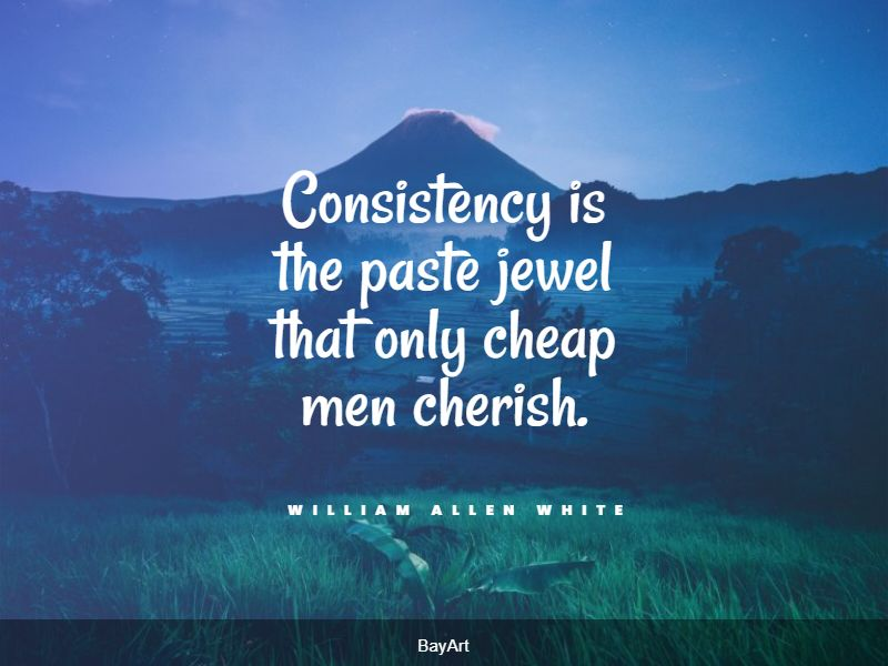 top consistency quotes