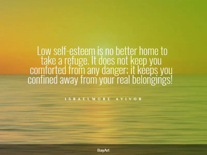 famous low self-esteem quotes