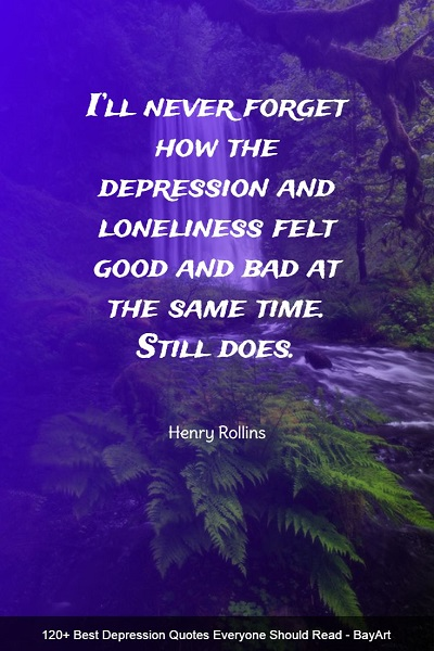 famous quotes about depression