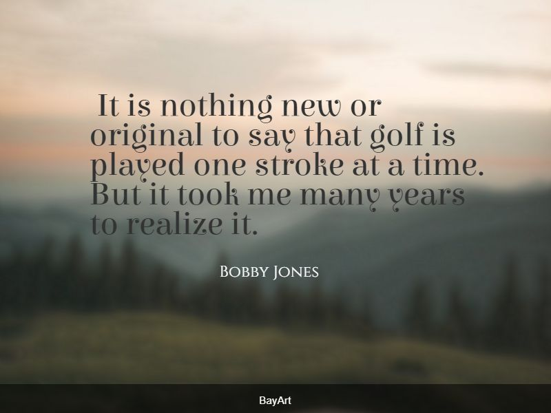 inspiring golf quotes