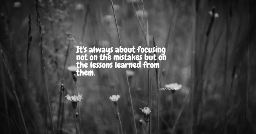 lesson learned quotes