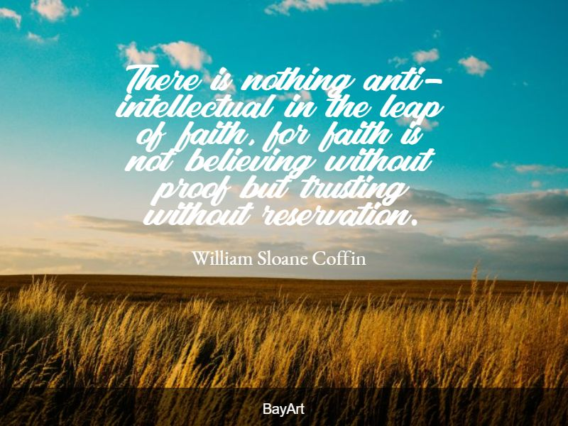 quotes about leap of faith