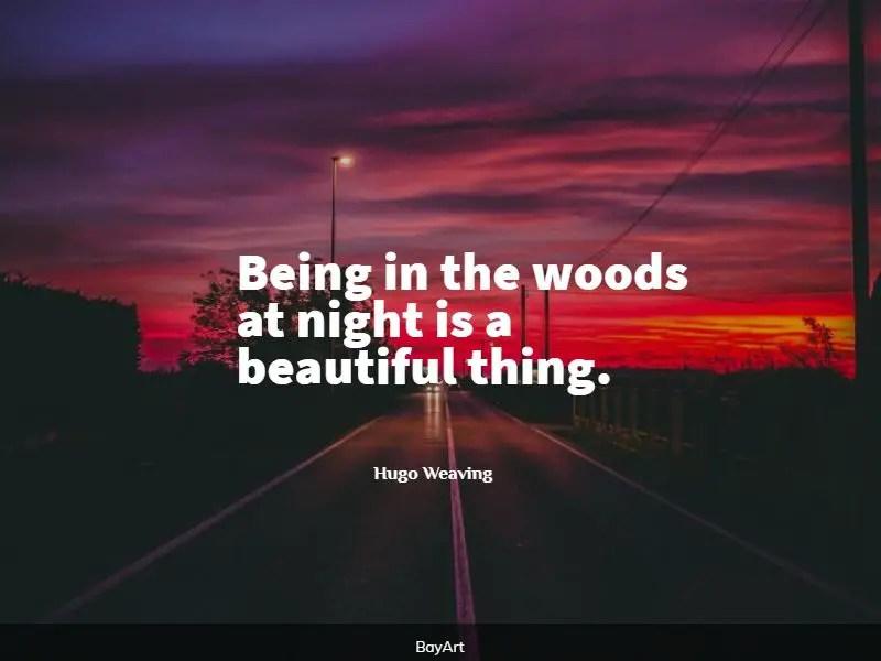 amazing woods quotes
