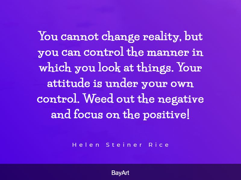 uplifting staying positive quotes