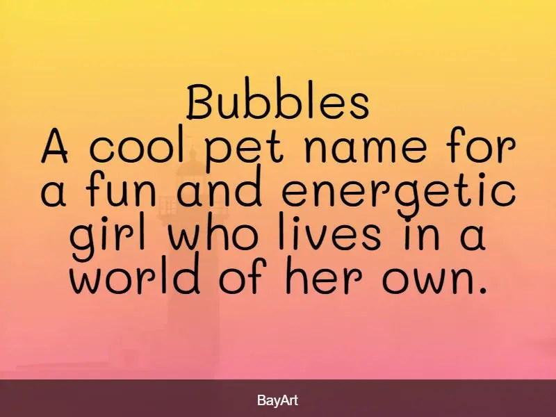 cool nicknames for girls