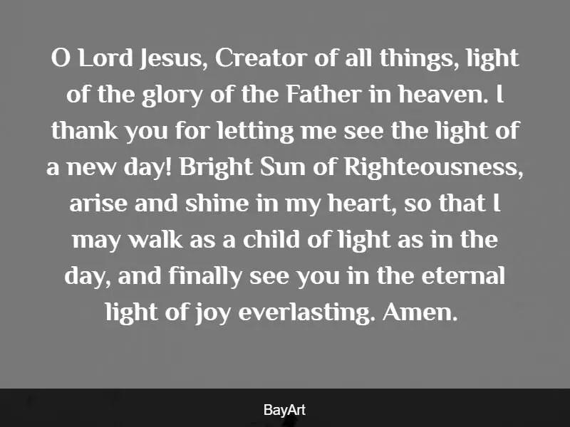 inspirational prayers for joy