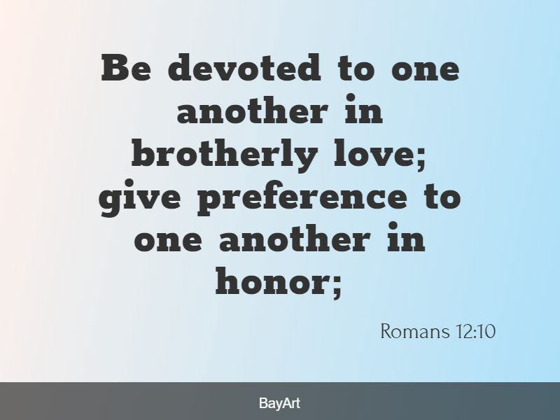 Bible quotes about respect