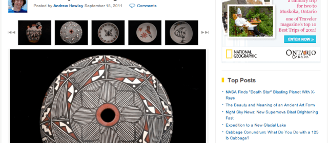 Deeper Meanings of Symbols on Native American Pottery