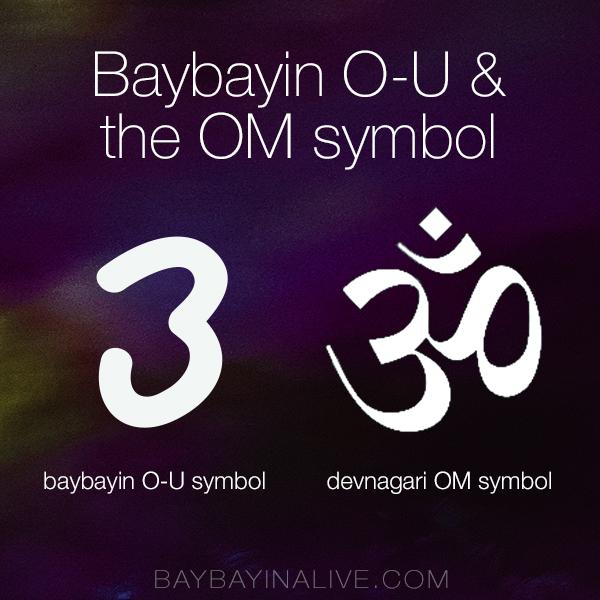 O U Baybayin And The Meanings In The Sanskrit Symbol Of Om
