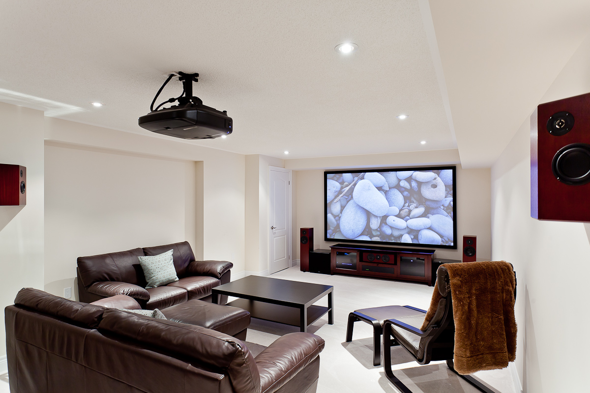 hight resolution of projector home theatre