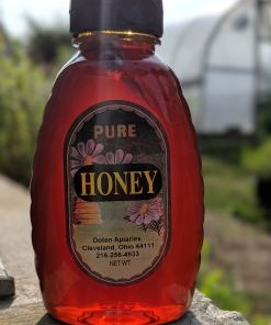 bottle of honey