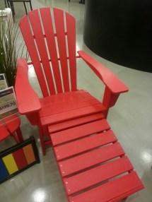 Polywood Adirondack Chair With Ottoman - Bay