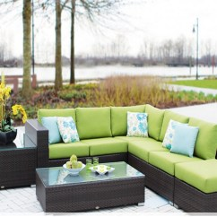Outdoor Sofas Brisbane Modern Furniture Vig T93c White Leather Sectional Sofa Ratana Collection Bay Breeze Patio