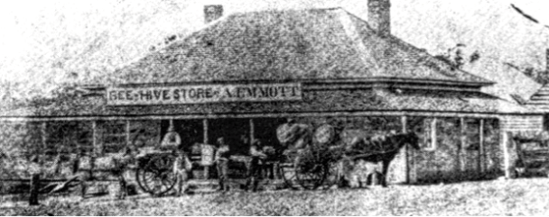 Erin-Go-Bragh reincarnation as the Beehive Store in Moruya